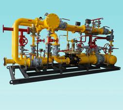 燃气调压站内部结构图